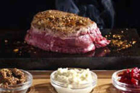Rangos - Starter 8oz Sirloin Steak Side Dish and Glass of Prosecco Each for Two - Save 57%