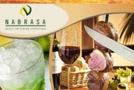 Nabrasa - Brazilian Rodizio All You Can Eat Grill With Dessert and Cocktail - Save 60%