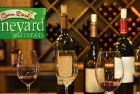 Cwm Deri Vineyard - Wine Tasting For Two With Vineyard Walk And Afternoon Tea - Save 50%
