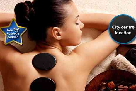 Unique Beautique - Full body deep tissue massage with hot stones - Save 62%