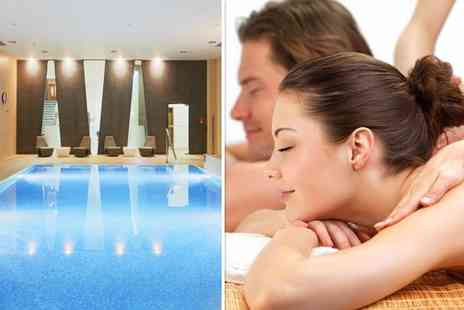 London Therapy 4 U - Relaxing spa experience for two including a choice of massage each - Save 42%