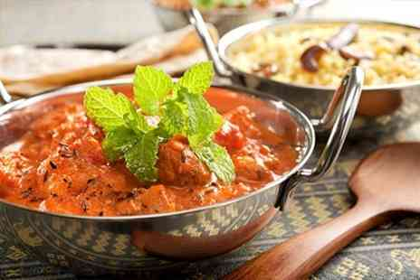 Chillibite Bar and Grill - Indian Cuisine Two Courses With Naan Poppadoms and Wine for Two - Save 36%