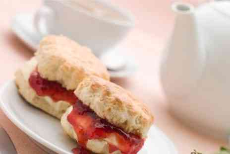 McCormicks Cafe Espresso - Afternoon Cream Tea for Two - Save 50%