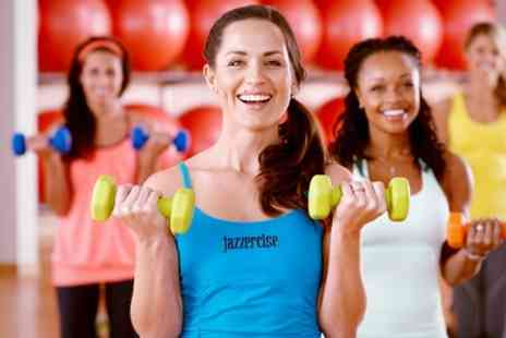 Jazzercise - Ten Jazzercise Classes - Save 73%