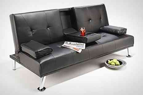 World of Sofa Beds - Cinema Sofa Bed in Black or Brown - Save 68%