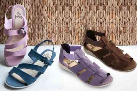 Courtaulds - Suede Sandals in Choice of Colours and Sizes - Save 60%