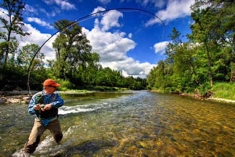 Speyfly - Four hour intro to trout fishing experience - Save 39%