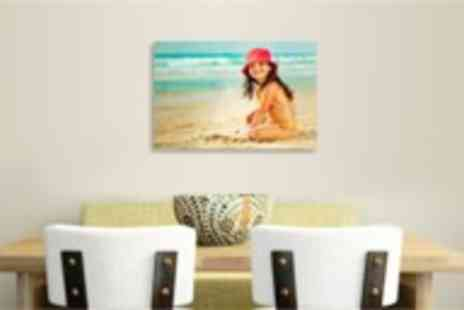 Your Image On Canvas - An A3 size Personalised Canvas Print - Save 92%