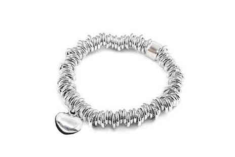 Essential Silver - Sweetie Style Silver 925 Bracelet - Save 40%