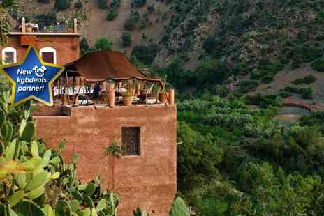 Specialist Morocco - Three night Moroccan mountain retreat for two people including breakast - Save 10%