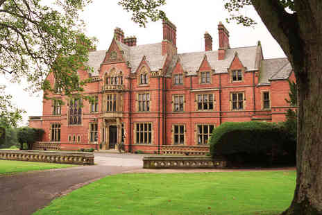 Wroxall Abbey Estate & Spa - 2 Night stay for 2 including breakfast and dinner - Save 48%