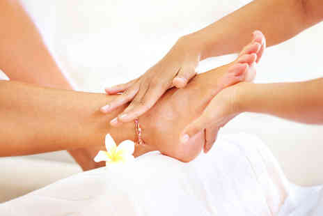 Enzo Beauty - 1 Hour luxury pedicure and foot callus treatment - Save 68%
