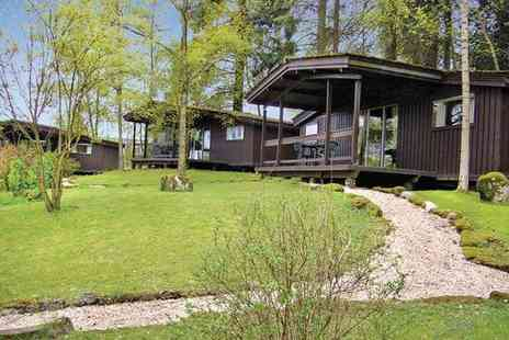 Altamount Chalets - Three night Scottish wood chalet getaway for two - Save 21%