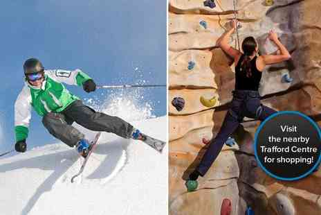 Chill Factore - A skiing or snowboarding and climbing taster lesson - Save 24%