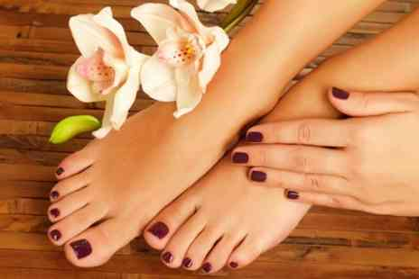 Savvy Health Hair and Beauty - Pedicure or Luxury Manicure - Save 55%