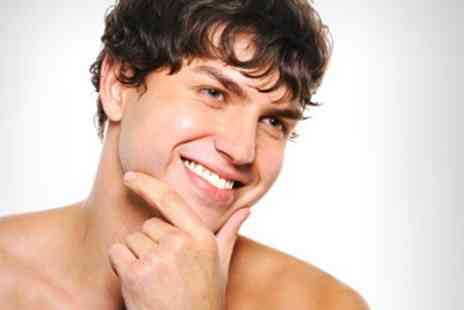 Spencers Hair Salon - Mens Grooming Package Close Shave and Face Mask Plus Neck Massage - Save 60%