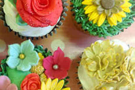 Bake180 - Floral Fantasie Cupcake Decorating Class - Save 60%