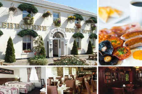 Ashbourne House Hotel - 2 Nights Stay and One Evening Meal for 2 - Save 60%