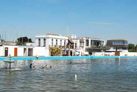 Lymington Sea Water Baths - 1 Visit to Lymington Sea Baths for a Family of 4 - Save 53%