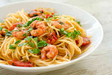 Intimo Fresco - Three course Italian meal for two - Save 44%