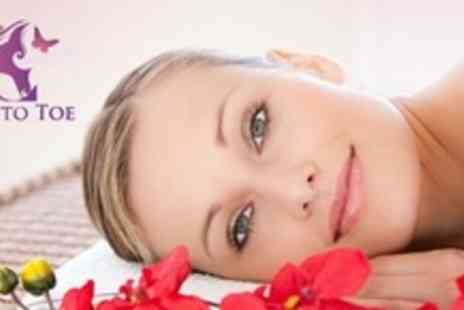 Head To Toe - Full Body Swedish Massage Thai Foot Massage and Mini Facial - Save 57%