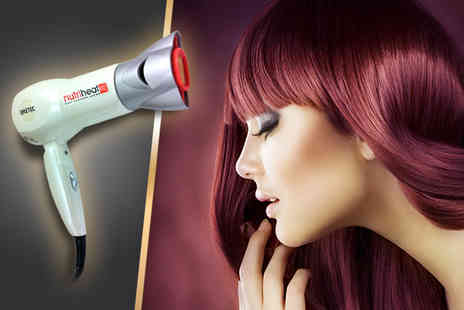 GimmeSome.co.uk - Nutriheat 1700W travel hair dryer - Save 75%