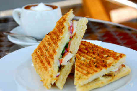 Rococo Coffee House - £4.50 for two paninis and two coffees - Save 64%