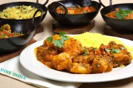 Dine India - Two Course Meal For Two - Save 61%