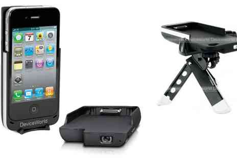 Device World - IPhone 4 4S Projector - Save 51%