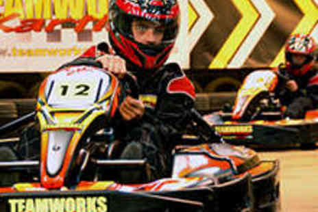 Teamworks Karting - 30 Minute Indoor Karting Experience - Save 53%