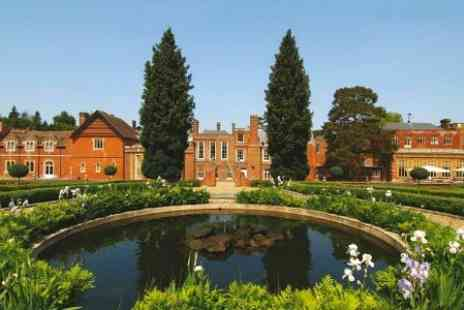 Wotton House - One Night Stay For Two With Breakfast with Afternoon Tea and Champagne - Save 43%