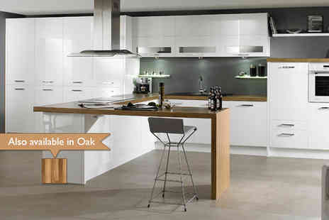Clearance Kitchens - Complete kitchen in a choice of colours including fitting - Save 75%