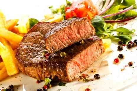Signatures English Bar and Restaurant - Three Course Steak Meal - Save 55%