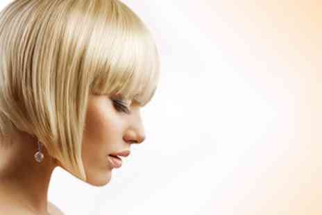 C M Claire - Half Head Highlights With Cut and Blow Dry - Save 68%