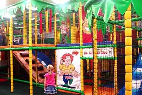 Jungletastic - Kids Soft Play Entry For Two Children and Drink Each - Save 50%