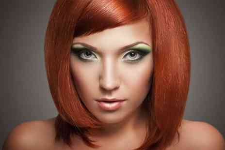 JL Hair Design - Cut and Blow Dry With Half Head Highlights - Save 64%