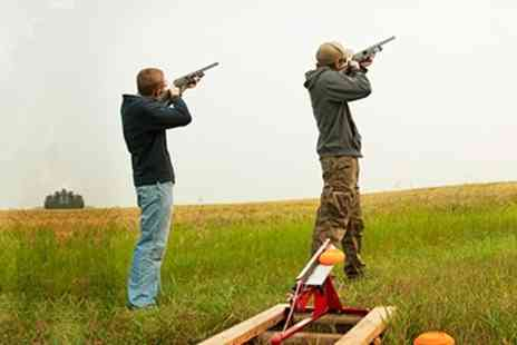 Euro Trap - Clay Pigeon Shooting With Forty Clays Each - Save 36%