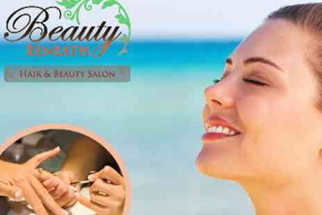 Beauty Beneath Hair & Beauty Salon - Choice of Facial, Swedish Massage, Cut, Blow Dry & Treatment or Fish Pedi - Save 66%