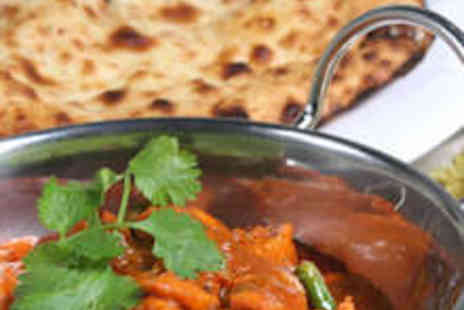 Punjabi Tadka - Main Course, Rice or Naan, and Glass of Wine Each for Two - Save 60%