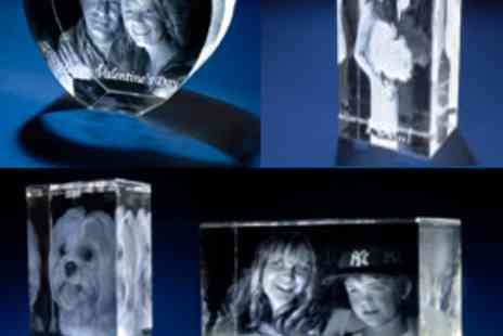 4D Centres Ltd - 3D Personalised crystal gift - Save 51%