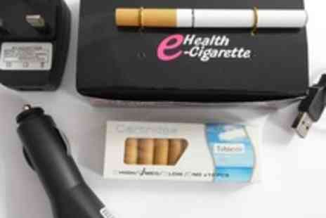 RAM Products Online - E Health Cigarette Starter Pack with 3 Chargers plus 10 Cartridges - Save 87%