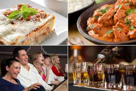 The Village Inn - A curry and comedy night for two with a shot each - Save 20%