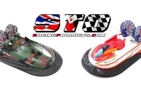 STO Racing Products - RC Remote Control Hovercraft White Or Camo - Save 57%