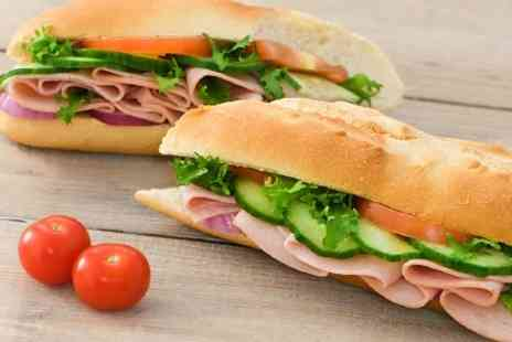 Baguette Express - Baguette or Panini With Drink - Save 96%