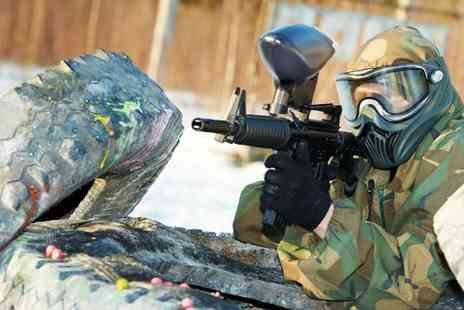 Top Gun Newcastle - Paintballing for 5 People at Top Gun Newcastle - Save 92%