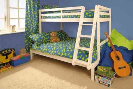 Sleep Softly - Triple Bunk Bed - Save 60%