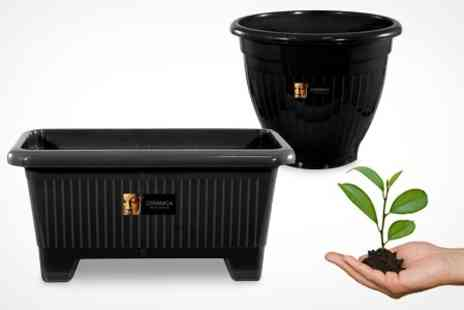 Mahahome.com - Three Garden Planters - Save 67%