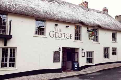 The George - Two night Devon break for two with a two course dinner on your first night - Save 18%