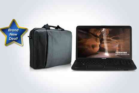 Box.co.uk - A Toshiba Satellite C850 laptop bundle - Save 15%