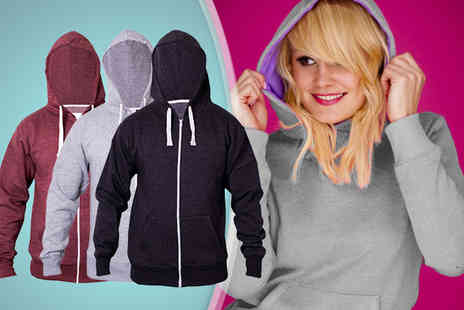 16 Sixty - Stylish unisex hoodie in a choice of colours - Save 68%